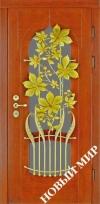 Входные двери премиум-класса с деревянной облицовкой (Категория 4)