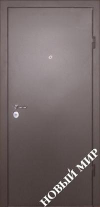 """Серийные входные двери """"Новосел 1"""" (Металл/МРК дубовый)"""