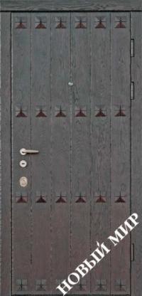 """Входные двери фасон """"Калитка"""""""