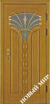 """Входные двери фасон """"Лотос"""""""