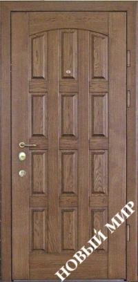 """Входные двери фасон """"Шоколадка"""""""