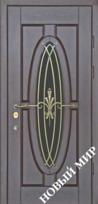 """Входные двери фасон """"Зеркало"""""""