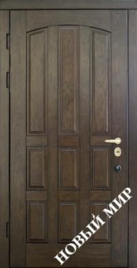 """Входные двери фасон """"Натали-Шоколадка"""""""