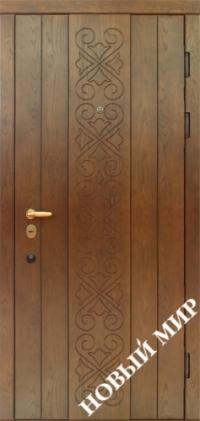 """Входные двери фасон """"Санта-Барбара"""""""