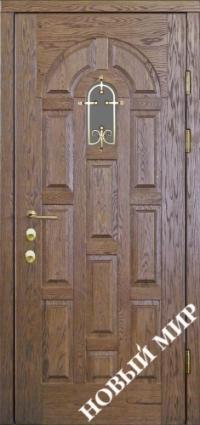 """Входные двери фасон """"Ладья"""""""