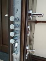 MDF+PVC «Пароді 9007» - вхідні двері ТПК «Новий світ»