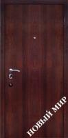 Входные двери Новосёл С 3 ПМЛ Темный орех
