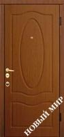 """Серийные входные двери """"Новосел С 7.6"""" Бедфорд (MDF/MDF)"""