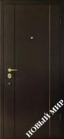 """Серийные входные двери """"Новосел 9"""" (Металл/MDF)"""