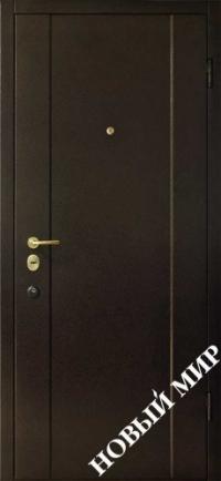 """Серийные входные двери """"Новосел 9 Премиум"""" (Металл/MDF)"""